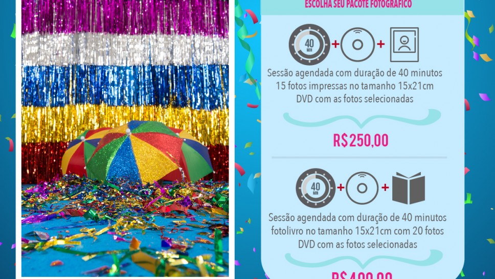 Mini Ensaio Carnaval