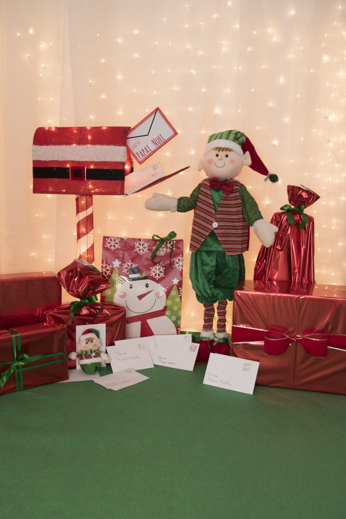 Esse cantinho todo especial é exclusivo para os pequenos mandarem suas cartas para Papai Noel! :D